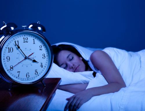 Agenda.  Slapen kan je leren.
